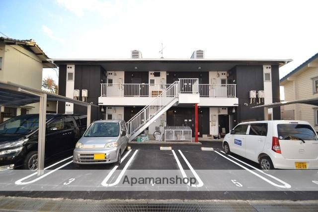 広島県東広島市、東広島駅芸陽バスバス10分東子下車後徒歩6分の築26年 2階建の賃貸アパート