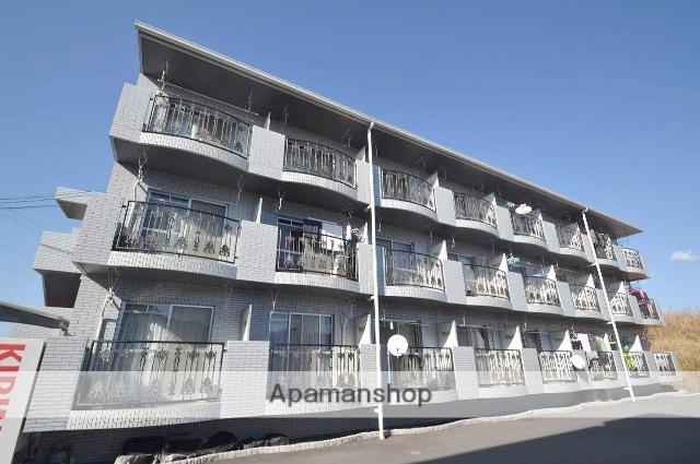 広島県東広島市、東広島駅バス5分千年池下車後徒歩3分の築22年 3階建の賃貸マンション