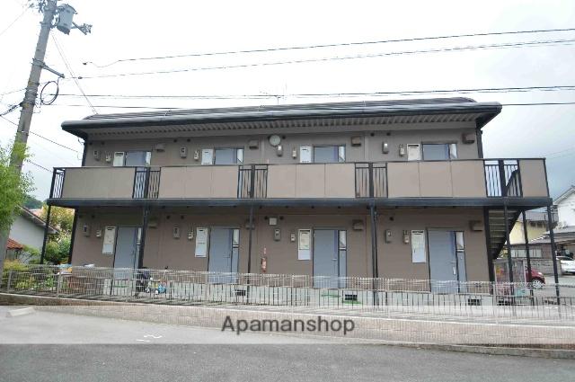 広島県東広島市、八本松駅バス5分八本松病院前下車後徒歩4分の築25年 2階建の賃貸アパート