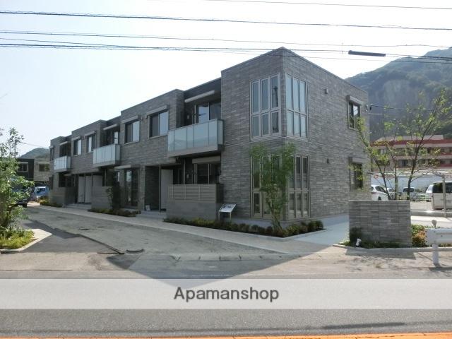 広島県竹原市、竹原駅徒歩21分の新築 2階建の賃貸アパート