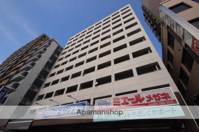 広島県広島市中区、本川町駅徒歩3分の築32年 11階建の賃貸マンション