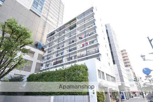 広島県広島市中区、女学院前駅徒歩4分の築37年 9階建の賃貸マンション