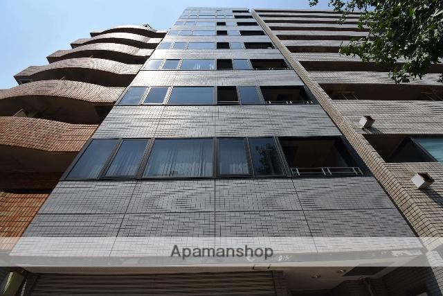 広島県広島市中区、日赤病院前駅徒歩10分の築24年 9階建の賃貸マンション