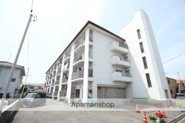 広島県広島市中区、舟入川口町駅徒歩20分の築41年 4階建の賃貸マンション