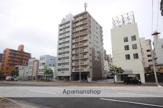 広島県広島市中区、土橋駅徒歩6分の築17年 11階建の賃貸マンション