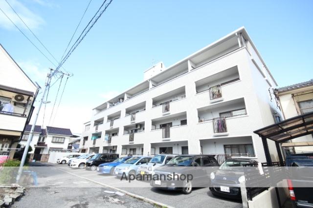 広島県広島市中区、舟入川口町駅徒歩17分の築23年 4階建の賃貸マンション