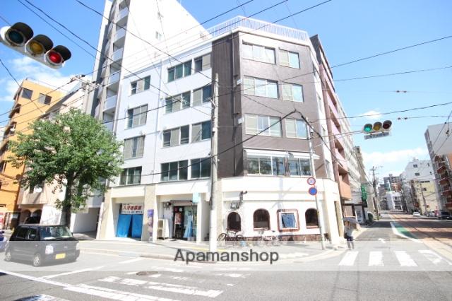 広島県広島市中区、土橋駅徒歩3分の築43年 5階建の賃貸マンション