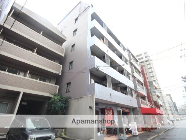 広島県広島市中区、市役所前駅徒歩4分の築25年 7階建の賃貸マンション