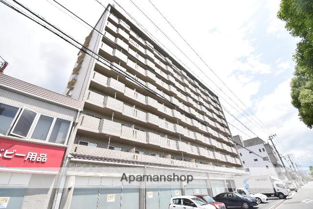 広島県広島市南区、県病院前駅徒歩7分の築27年 10階建の賃貸マンション