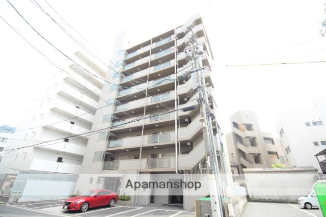 広島県広島市中区、御幸橋駅徒歩3分の築20年 9階建の賃貸マンション