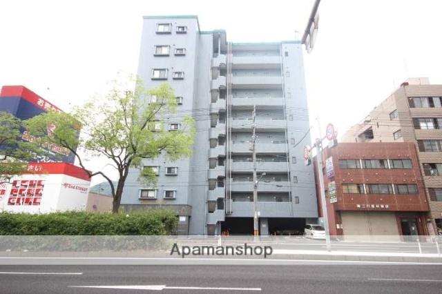 広島県広島市南区、比治山橋駅徒歩27分の築12年 9階建の賃貸マンション