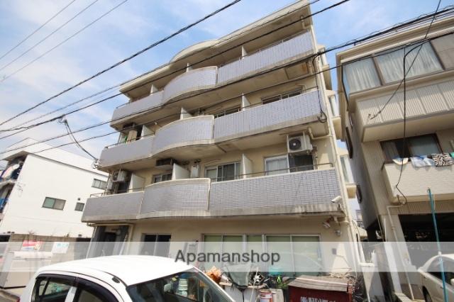 広島県広島市南区、県病院前駅徒歩15分の築26年 4階建の賃貸マンション