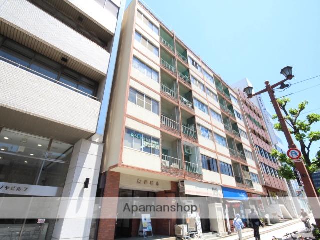 広島県広島市中区、原爆ドーム前駅徒歩4分の築60年 6階建の賃貸マンション