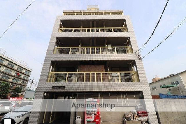広島県広島市中区、舟入南町駅徒歩20分の築28年 5階建の賃貸マンション