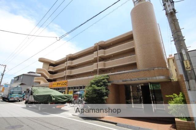 広島県広島市南区、県病院前駅徒歩13分の築27年 4階建の賃貸マンション