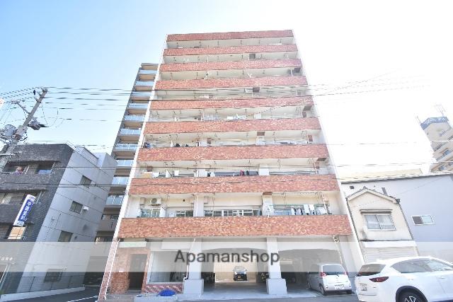広島県広島市中区、鷹野橋駅徒歩9分の築35年 9階建の賃貸マンション
