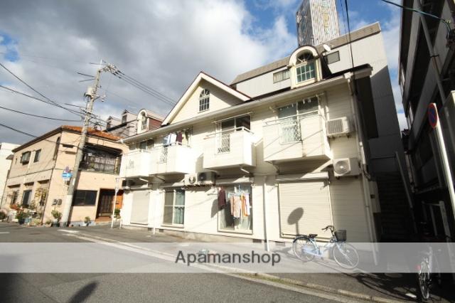 広島県広島市南区、元宇品口駅徒歩4分の築28年 2階建の賃貸アパート