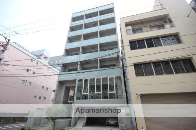 広島県広島市中区、本通駅徒歩18分の築2年 8階建の賃貸マンション