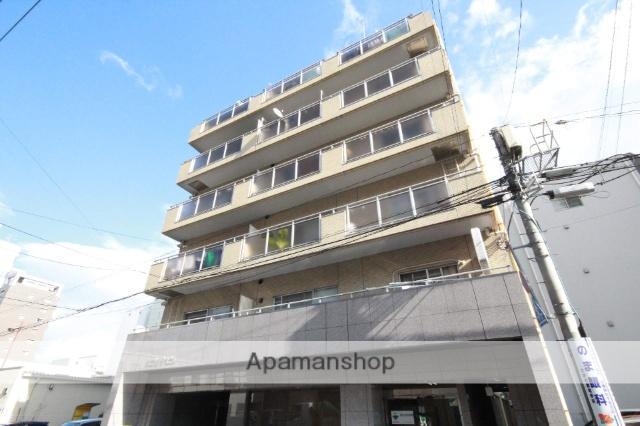 広島県広島市中区、日赤病院前駅徒歩5分の築31年 8階建の賃貸マンション