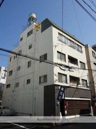 広島県広島市中区、稲荷町駅徒歩7分の築38年 4階建の賃貸マンション
