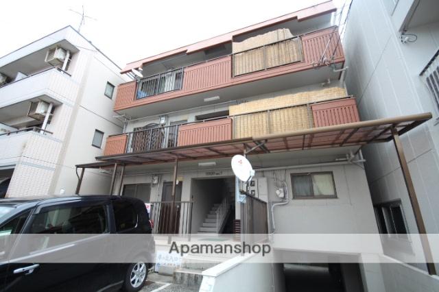 広島県広島市南区、海岸通駅徒歩7分の築32年 4階建の賃貸マンション