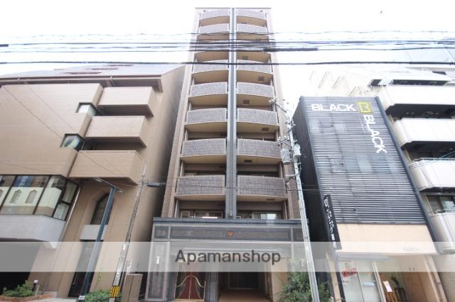 広島県広島市中区、胡町駅徒歩4分の築1年 10階建の賃貸マンション