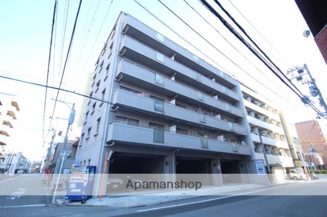 広島県広島市中区、広電本社前駅徒歩12分の築21年 6階建の賃貸マンション