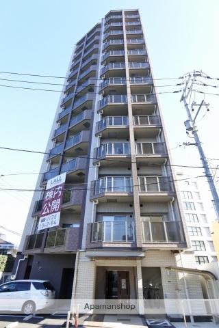 広島県広島市中区、女学院前駅徒歩6分の築1年 13階建の賃貸マンション