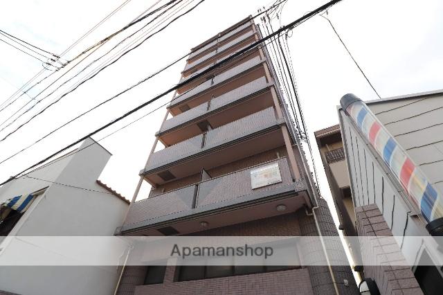 広島県広島市南区、元宇品口駅徒歩6分の築17年 9階建の賃貸マンション