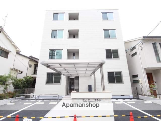 広島県広島市中区、御幸橋駅徒歩7分の新築 4階建の賃貸マンション