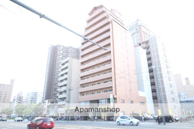 広島県広島市中区、土橋駅徒歩2分の築20年 14階建の賃貸マンション