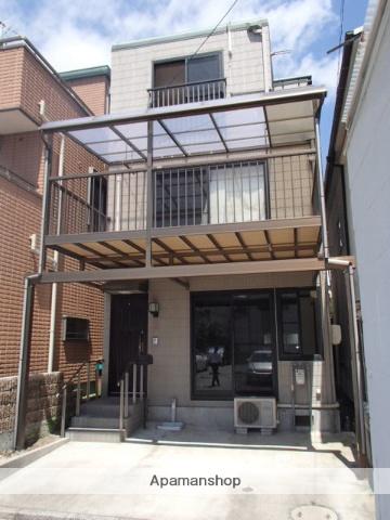 広島県広島市南区、元宇品口駅徒歩8分の築19年 3階建の賃貸一戸建て