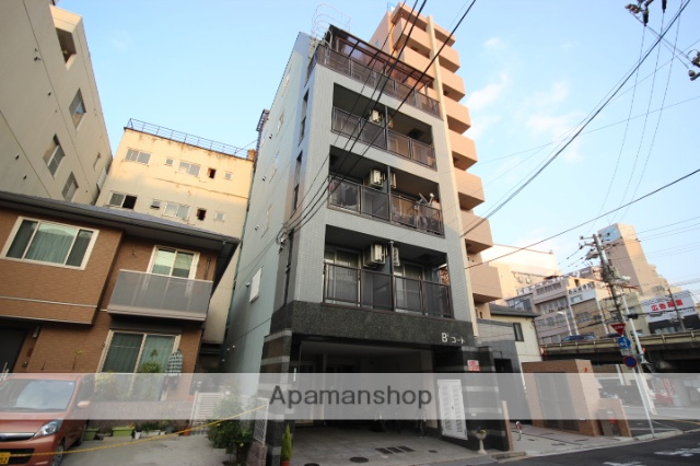 広島県広島市南区、広島駅徒歩6分の築20年 6階建の賃貸マンション