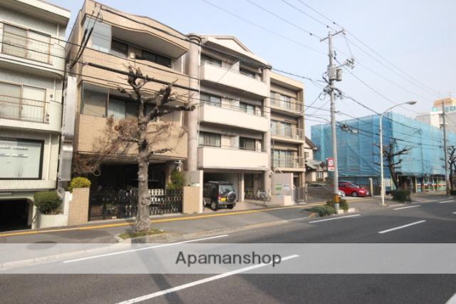 広島県広島市中区、新白島駅徒歩8分の築22年 4階建の賃貸マンション