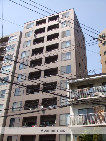 広島県広島市中区、胡町駅徒歩10分の築21年 11階建の賃貸マンション