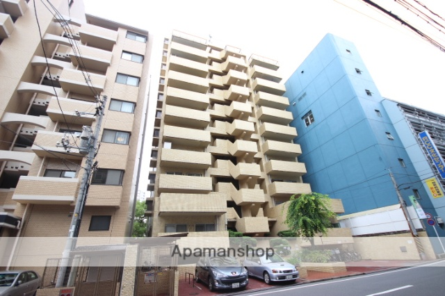 広島県広島市中区、広島駅徒歩10分の築35年 11階建の賃貸マンション