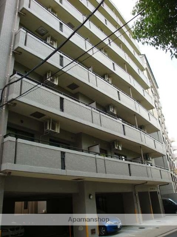 広島県広島市中区、縮景園前駅徒歩6分の築13年 8階建の賃貸マンション
