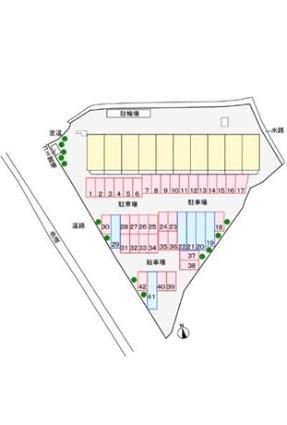 プリムローズ[2K/44.16m2]の配置図