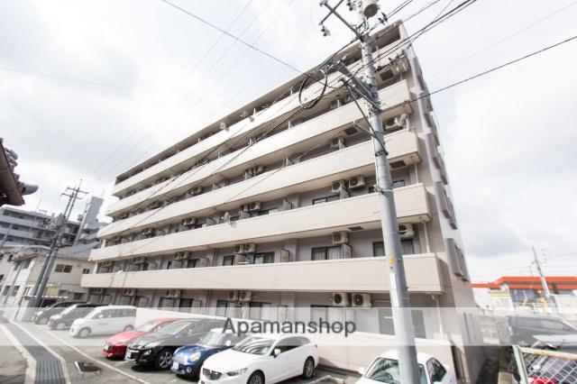広島県広島市安芸区、安芸中野駅徒歩10分の築23年 6階建の賃貸マンション