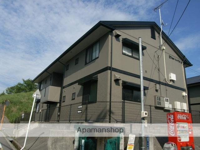 広島県安芸郡熊野町の築21年 2階建の賃貸アパート