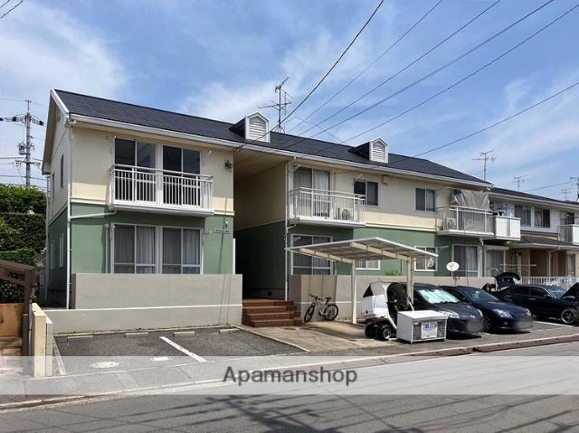 広島県広島市南区、向洋駅徒歩25分の築27年 2階建の賃貸アパート