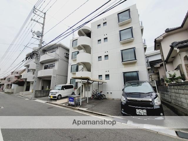 広島県安芸郡海田町、海田市駅徒歩16分の築24年 4階建の賃貸マンション