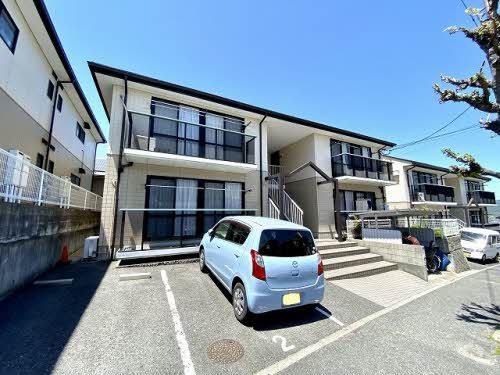 広島県広島市安芸区の築23年 2階建の賃貸アパート