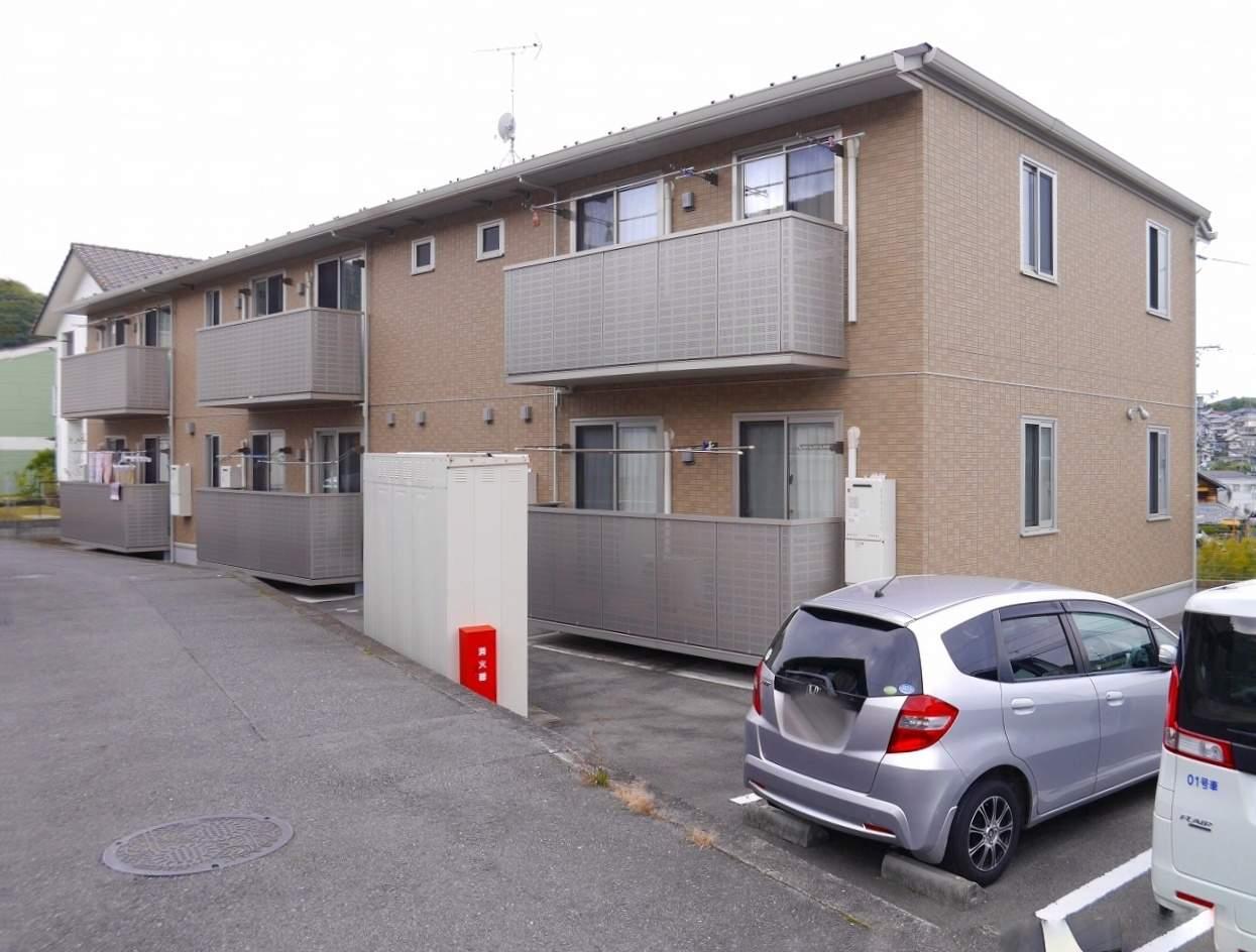 広島県安芸郡海田町の築5年 2階建の賃貸アパート