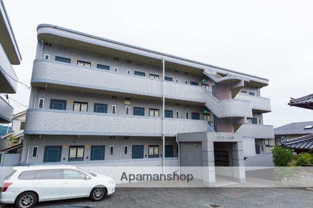 広島県広島市安芸区、矢野駅徒歩7分の築24年 3階建の賃貸マンション