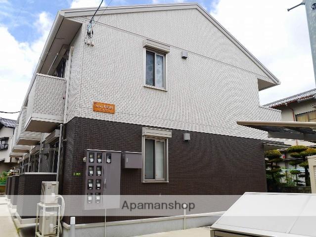 広島県広島市安芸区、海田市駅徒歩6分の築4年 2階建の賃貸アパート