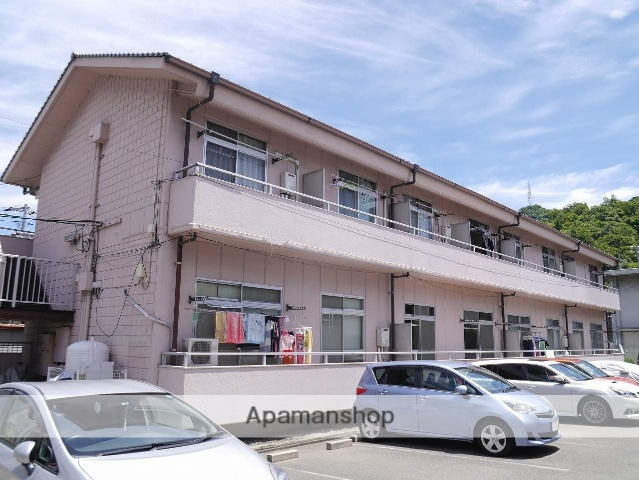広島県安芸郡海田町、安芸中野駅徒歩24分の築25年 2階建の賃貸アパート