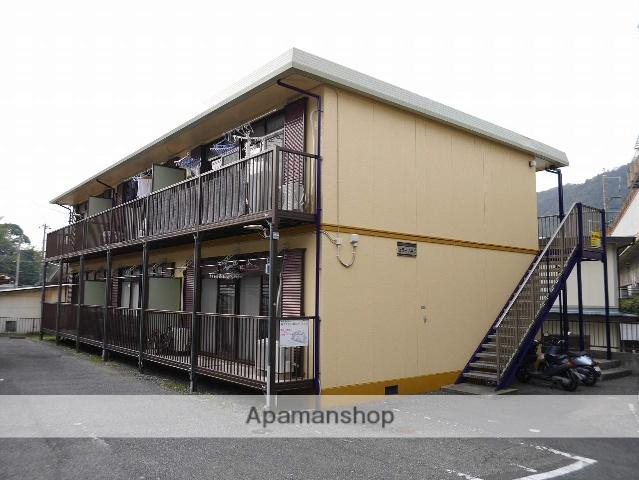 広島県安芸郡海田町、安芸中野駅徒歩16分の築20年 2階建の賃貸アパート