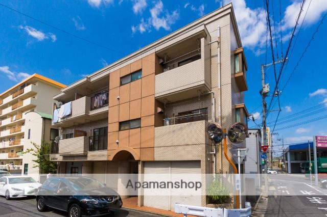 広島県広島市安芸区、海田市駅徒歩7分の築35年 3階建の賃貸マンション