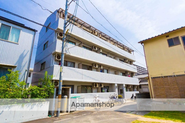 広島県安芸郡海田町、海田市駅徒歩5分の築22年 4階建の賃貸マンション
